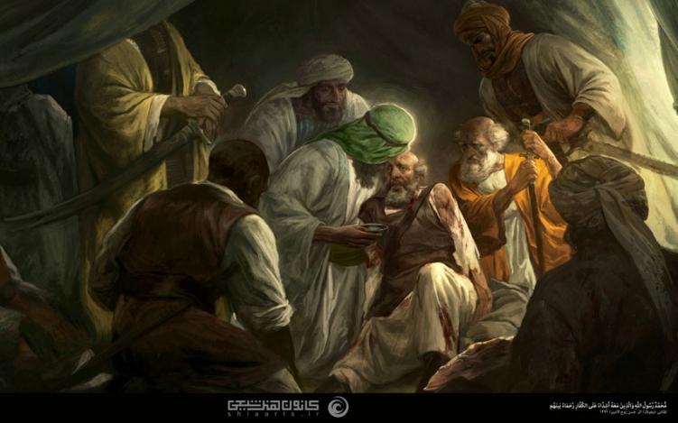 محمد رسول الله والذين معه أشداء على الكفار رحماء بينهم